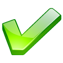 icon of green checkmark