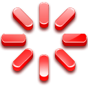 icon of red starburst indicating cancellation
